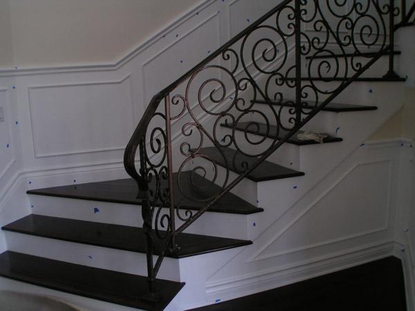 metal stairrcase custom-built by noel welding