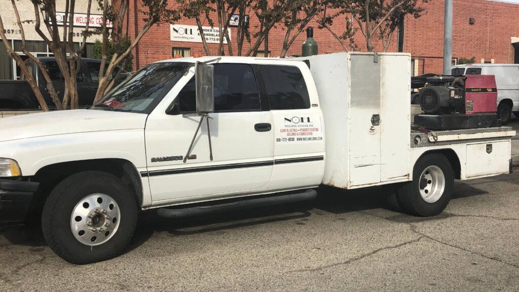 noel welding truck